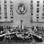 Assemblée Générale de l'ONU lors de l'adoption de la DUDH